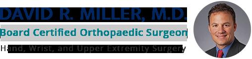 DAVID R. MILLER Logo